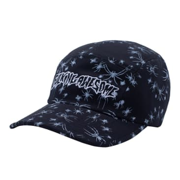 Fucking Awesome Spider Stamp Volley Strapback - Black