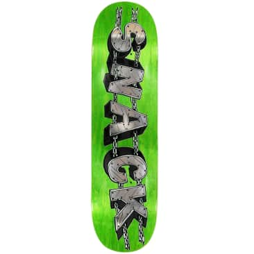 "Snack G Kode Chain Deck 8.0"" (Green Stain)"