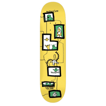 Krooked Skateboards Deck Anderson Frames Green 8.38""