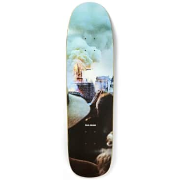 Polar Skate Co. Paul Grund Notre Dame P9 Shape Skateboard Deck - 8.625""