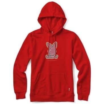 Color Bars x Playboy Tokyo Rabbit Head Hoodie - Red