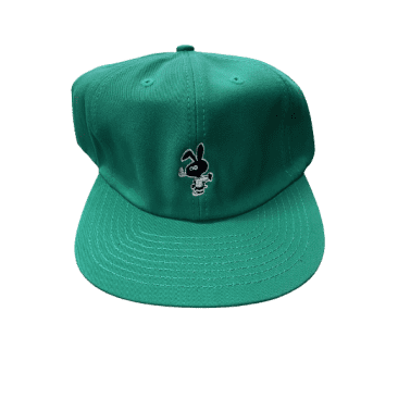 Cold World - Cold Bunny Unstructured 6 Panel Hat (Teal)