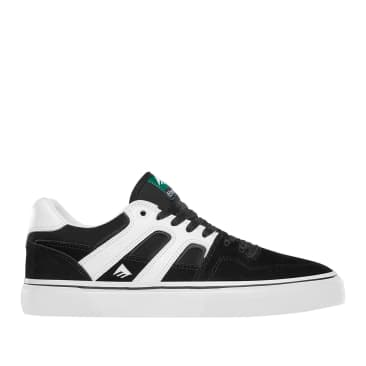 Emerica Tilt G6 Vulc Skate Shoes - Black / White
