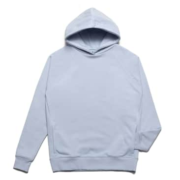 Chrystie NYC - Clean cut side pockets hoodie_Sky Blue