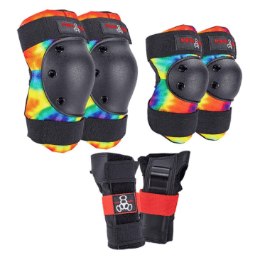 Triple Eight Protective Wear - Triple 8 Saver 3 Piece Pad Set MD