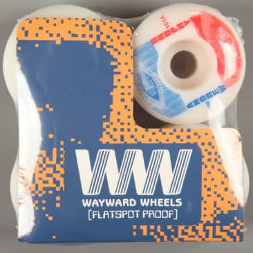 Wayward 'Andrew Brophy Classic Pro' 54mm 101a Wheels (White / Blue)