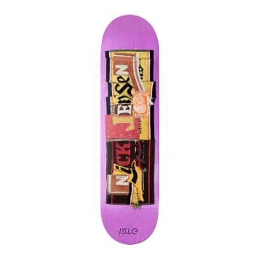 Isle Nick Jensen Pub Series Skateboard Deck - 8""