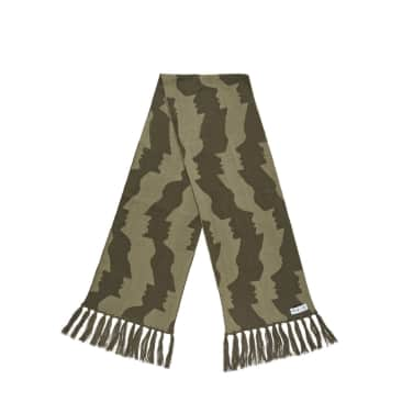 Polar Skate Co Faces Scarf - Olive