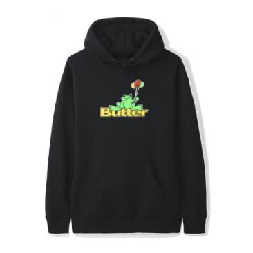 Butter Goods Frog Hoodie - Black
