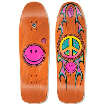 "Black Label John Lucero Street Thing Deck (Orange Stain) 9.88"" x 32.25"""