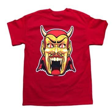 RELIEF DANTES INFERNO TEE RED