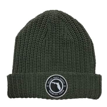 RELIEF FLORIDA BEANIE OLIVE