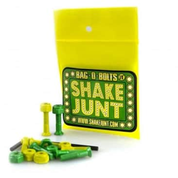"Shake Junt Green/Yellow Bolts 7/8"" Phillips"