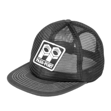 Pass~Port Bolt Trucker Cap - Black