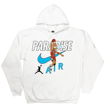 Paradise.NYC Can't Touch This Hoodie - White
