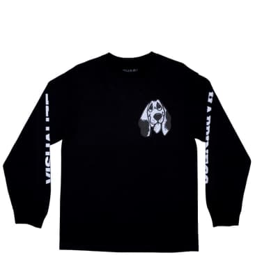 Quasi Happiness Long Sleeve T-Shirt - Black