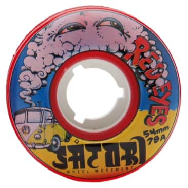 Satori Red Eyes Cruiser Wheels 78a 54mm