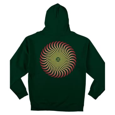 Spitfire Classic Swirl Fade Pullover Hooded Sweatshirt