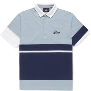 by Parra Pencil Logo Polo Shirt - Blue