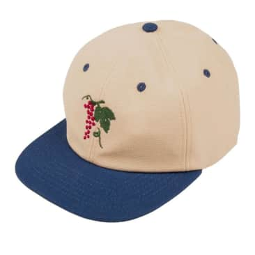 Pass~Port Life Of Leisure 6 Panel Hat - Royal / Natural