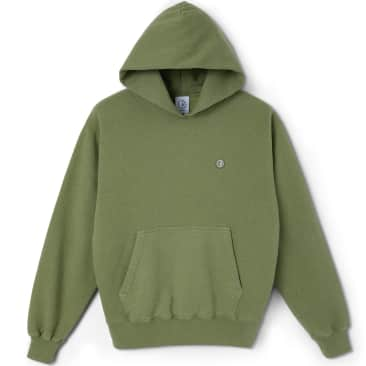 Polar Skate Co Patch Hoodie - Heather Green