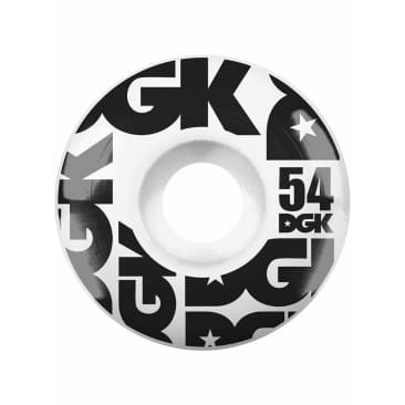 DGK Street Formula Skateboard Wheels - 54mm