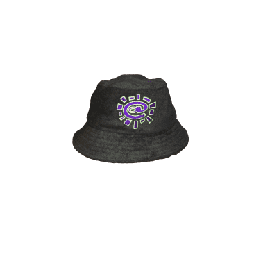 Always do what you should do Terry Towelling Bucket Hat - Black