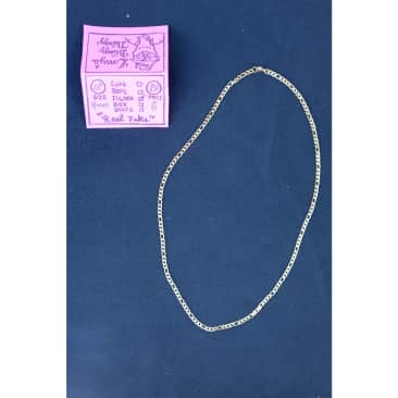 Figaro Necklace 24 inch 4 mm - Gold