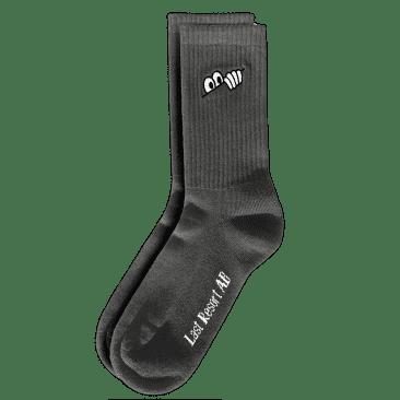 Last Resort AB Eyes Socks - Graphite