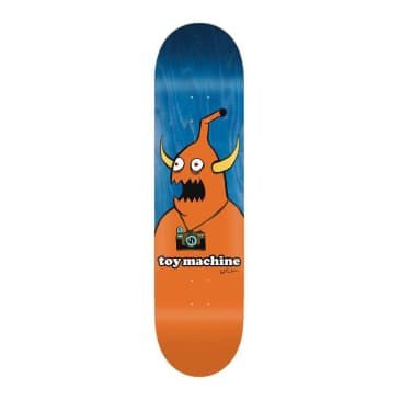 "Toy Machine Templeton Camera Monster 8.5"" Deck"