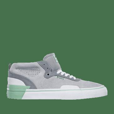 Emerica Pillar Skate Shoes - Grey / White / Green