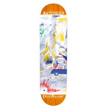 Anti-Hero Skateboards Deck Pfanner SF Then And Nown 8.06""