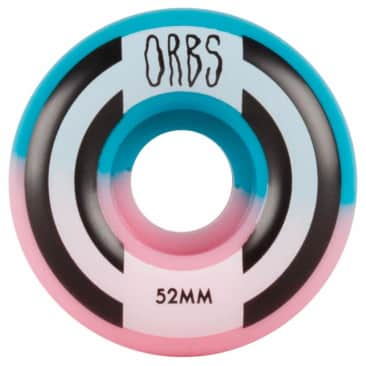 Welcome Skateboards - Welcome Skateboards Orbs Apparitions Splits Pink & Blue Wheels | 52mm