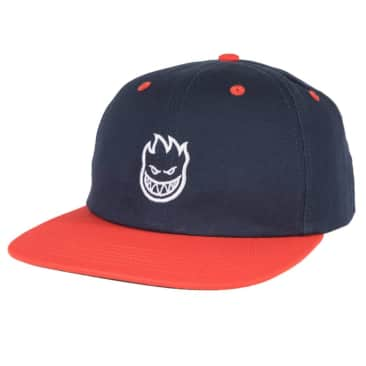 Spitfire Adjustable Lil Bighead Stapback (Navy/Red/White)