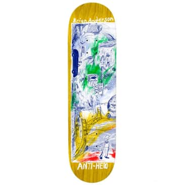 "Anti-Hero Anderson SF Then & Now 8.5"" Deck"