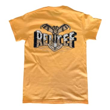 Relief Bat Girl Tee Yellow