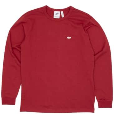 adidas Skateboarding Mini Shmoo Long Sleeve T-Shirt - Legacy Red / Alumina