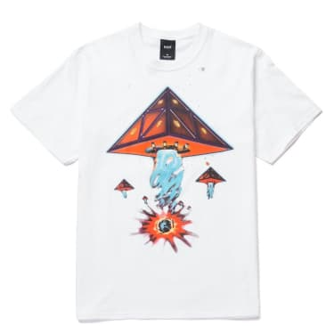 HUF Doomsday Triple Triangle T-Shirt - White