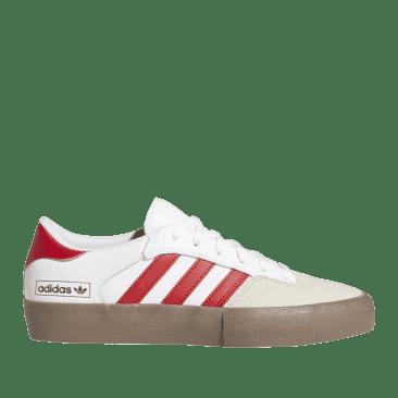 adidas Skateboarding Matchbreak Super Shoes - Cloud White / Power Red / Gum
