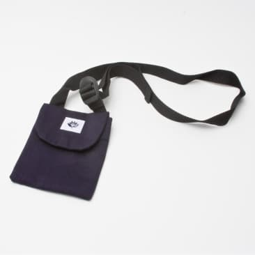Magenta Pouch Bag Navy