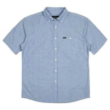 Brixton - Central S/S Shirt - Light Blue Chambray