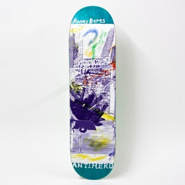 """Anti Hero SF Then And Now Deck Raney Beres 8.12"""""""