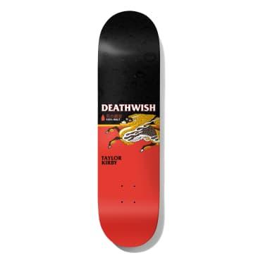 Deathwish Skateboards Taylor Kirby The Messenger Skateboard Deck - 8.25