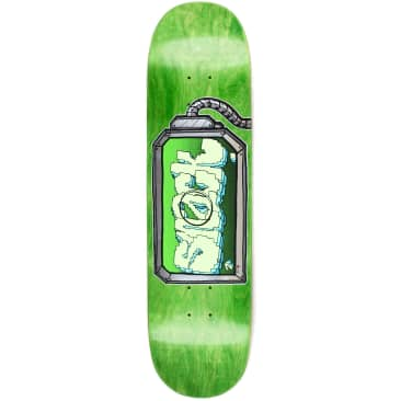 "Snack G Kode Screen Deck 8.125"" (Green Stain)"
