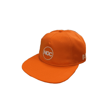 Nocturnal Noc Circle Logo Cap (Orange)