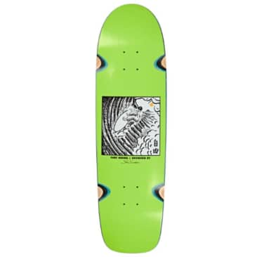 SHIN SANGONGI - FREEDOM LIME - WHEEL WELL SURF SHAPE