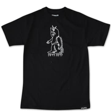 Fifty Fifty Store Gonz T-Shirt - Black