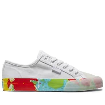 DC Manual S x Evan Smith Skate Shoes - White