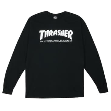Skate Mag Long Sleeve T-Shirt - Black