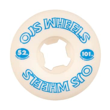 OJ - 52mm (101a) From Concentrate Wheels - White / Blue